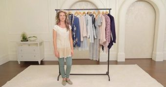 Anne teaches layering clothes for Type 2