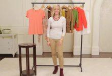 Sarah teaches layering clothing