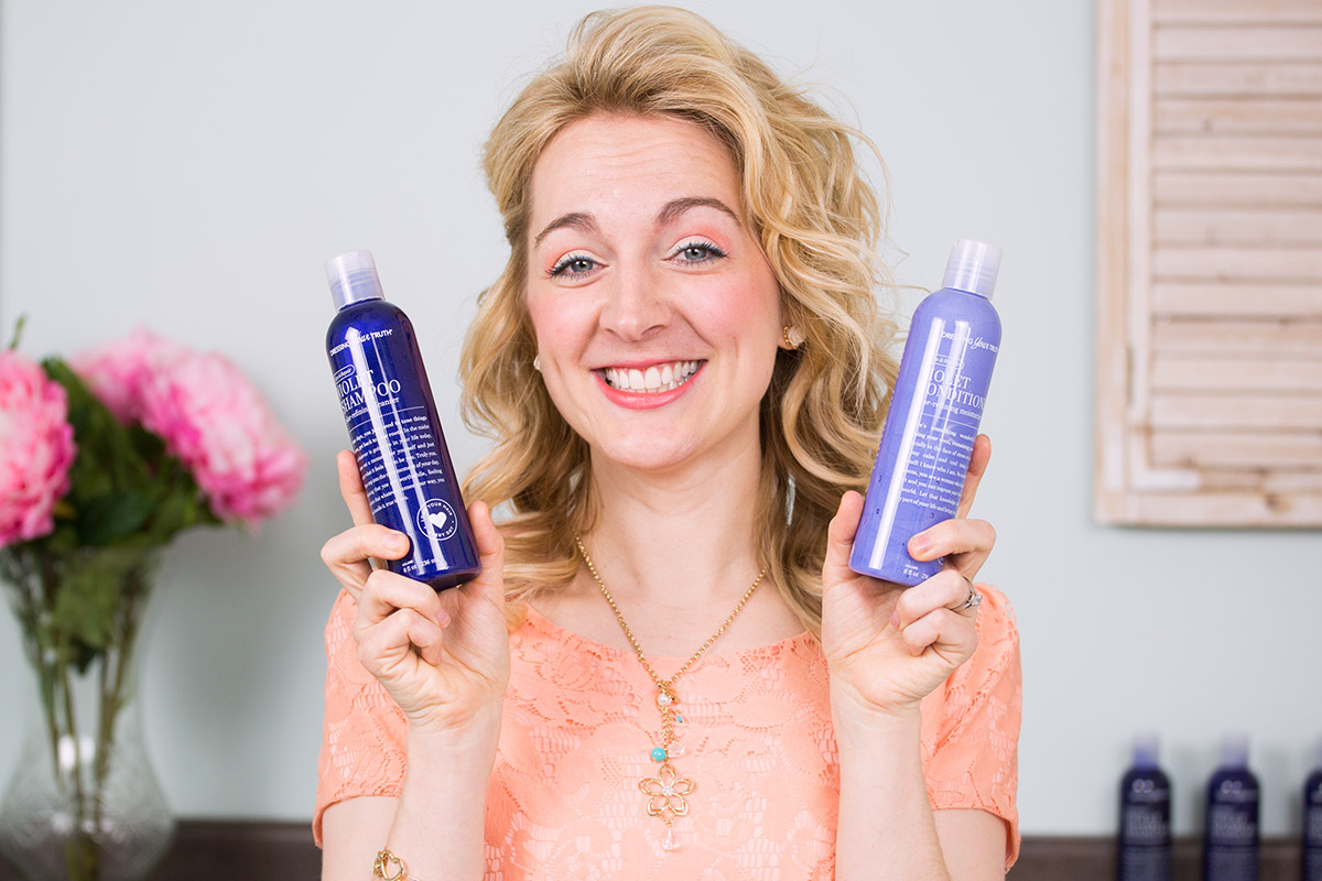 Nicole shares the benefits and instructions for using Purple Shampoo