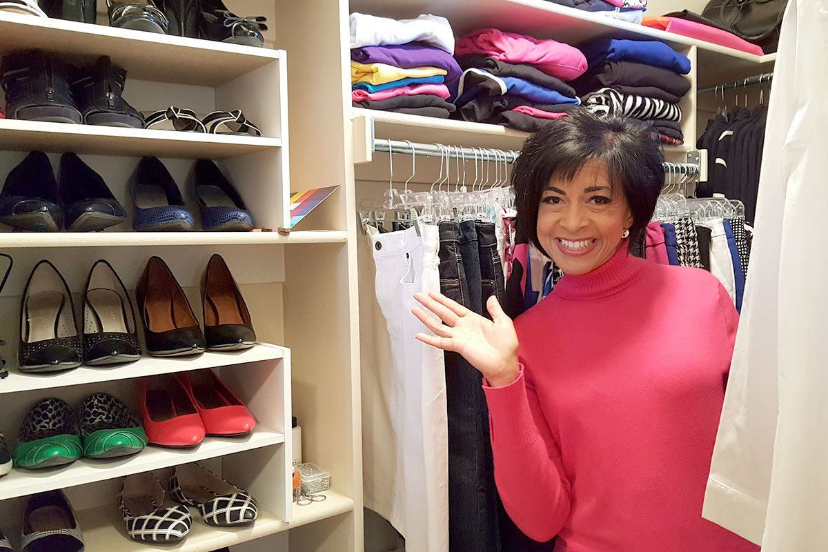 Deborah's Stunning Type 4 Closet Will Take Your Breath Away
