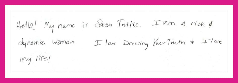 Swift and angular Type 3 person's handwriting sample