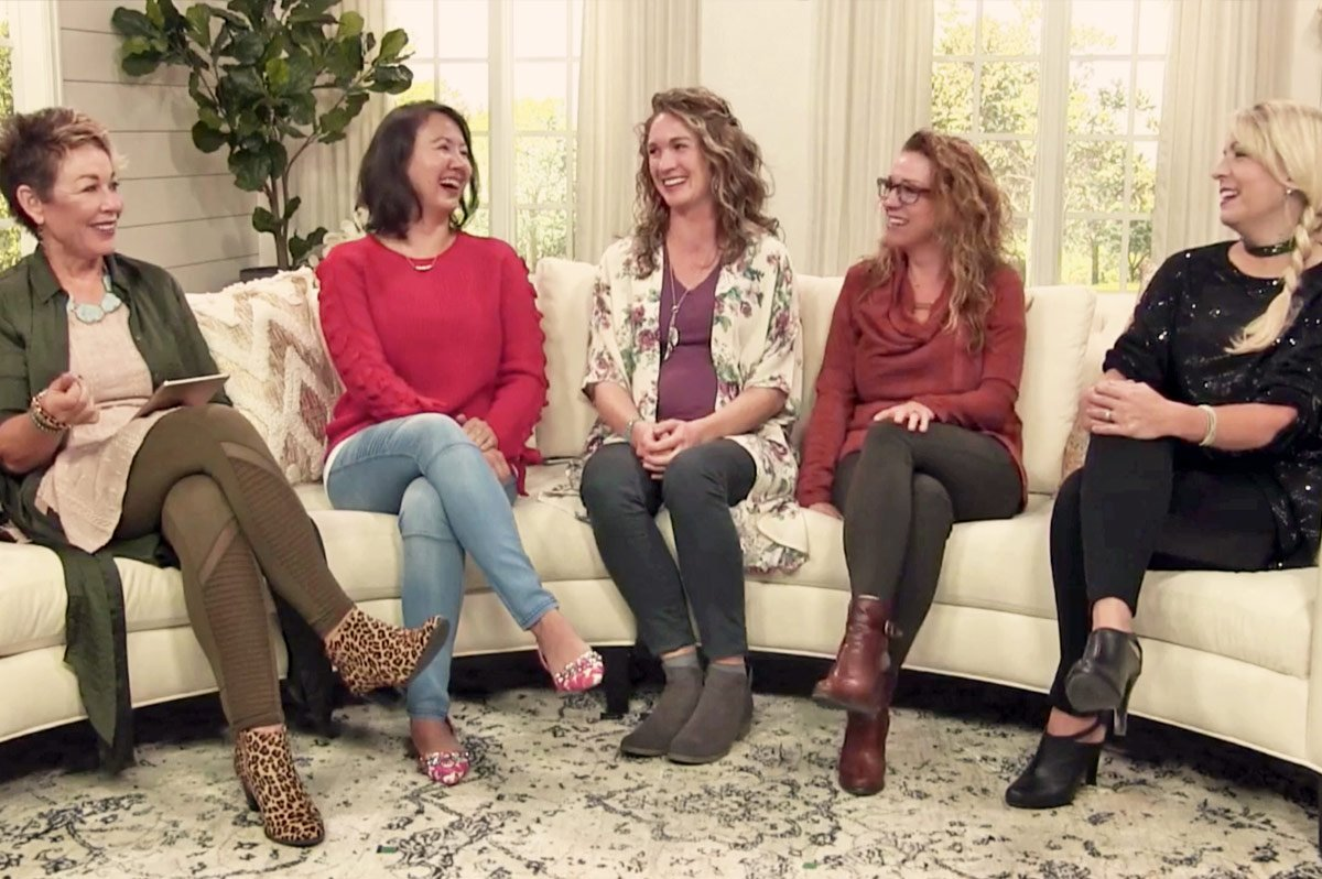 Carol and the Dressing Your Truth Experts talking about how to feel and be beautiful