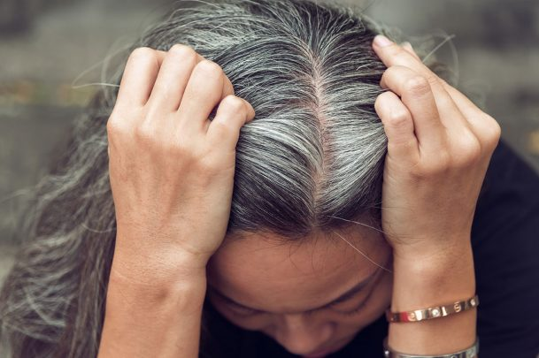 Stop dying hair and go grey