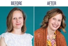 Before and After of Melissa