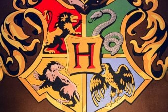 All four Hogwarts House symbols - which house do you belong in?