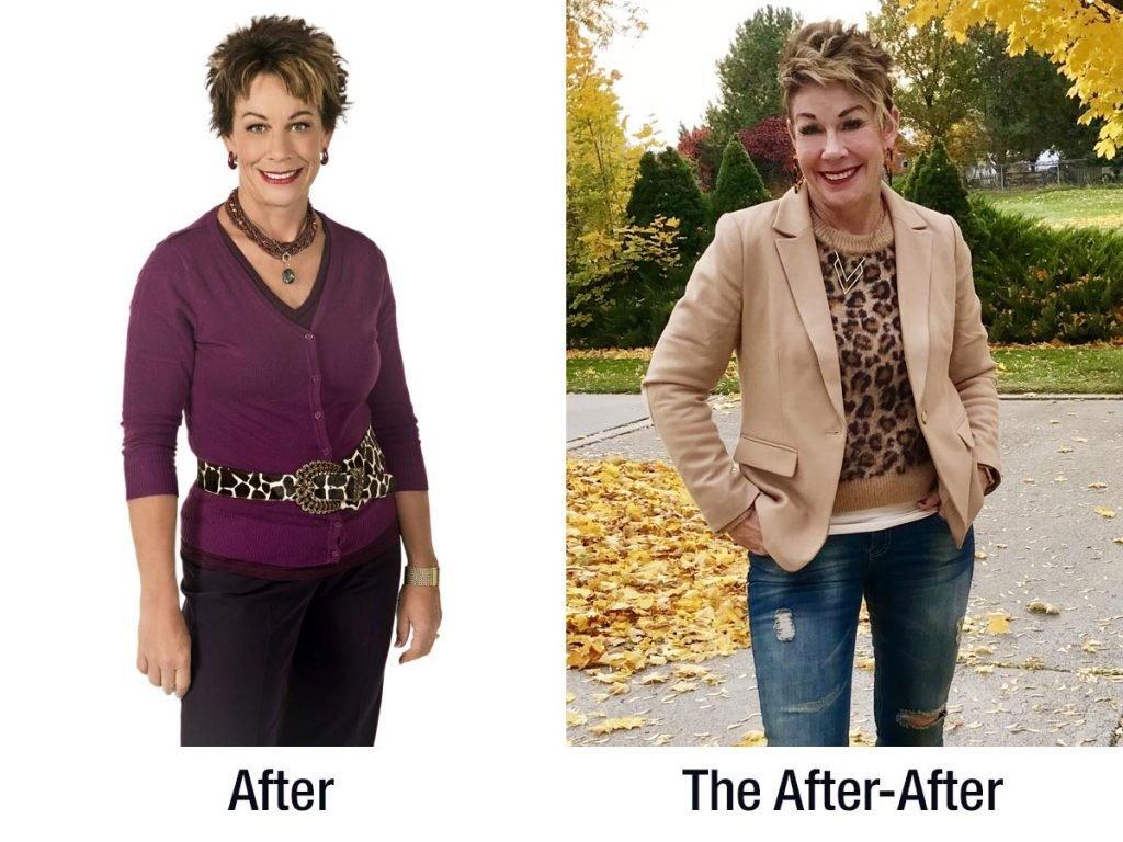 Carol Tuttle's Dressing Your Truth Before & After picture