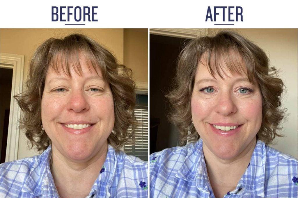 Melanie Before & After BB Cream
