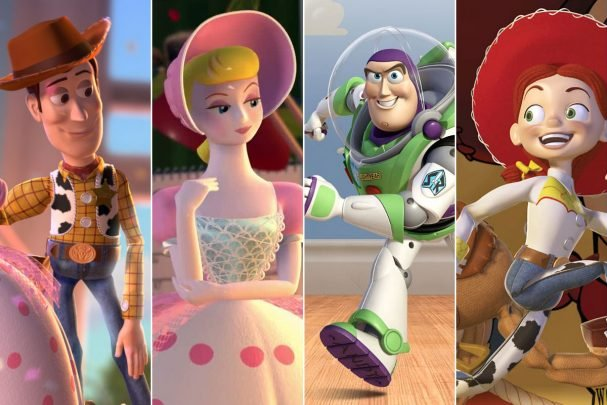 What Energy Type are the Toy Story characters?