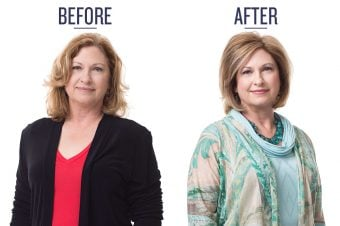 Carol Tuttle with an over 50 soft subtle Type 2 makeover