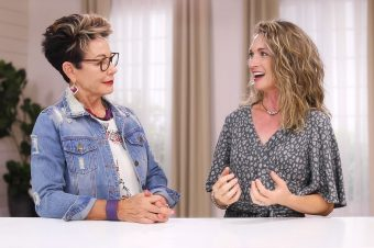 Carol Tuttle and Anne Brown share tips for 2/3 yin-yang hairstyles