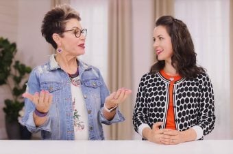 Carol Tuttle and Kalista Watson talk Type 4/1 hairstyle