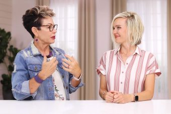 Carol, and Sarah Tuttle talk Type 3/2 Hairstyle