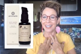 Carol sharing her best anti aging skin care tips
