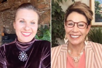 Carol and Madgalena talking about balancing hormones