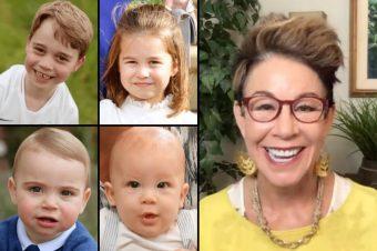 Carol Tuttle and Royal children