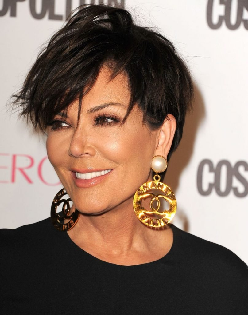 Kris Jenner Pixie Cut - Anti Aging Hairstyles