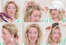 Nicole shows 3-minute hair tips