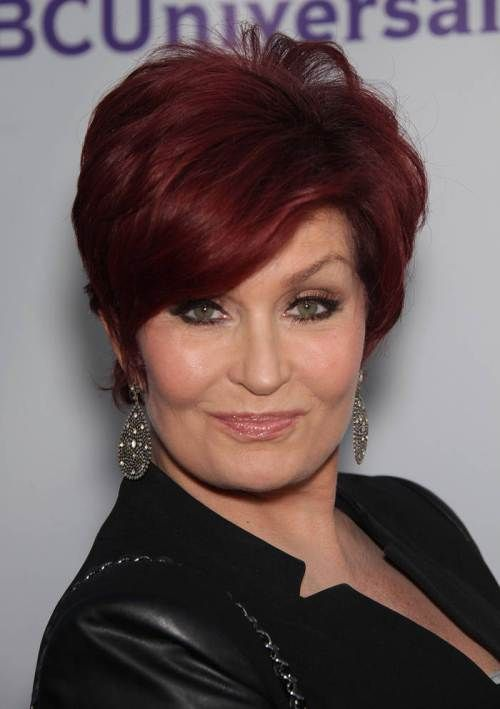 Sharon Osborn Red Hair for Women Over 60