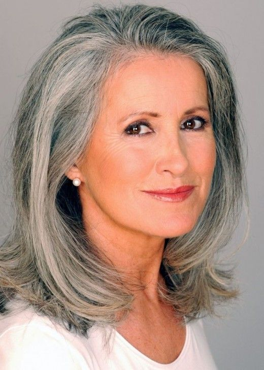Silver Fox Hair Color for Women over 60