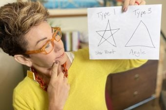 Carol explains Type 1 Star points vs Type 3 triangles