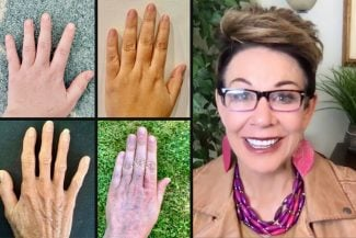 Carol shares how the 4 Types are expressed in your hands