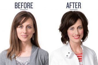 Before & after mom makeover