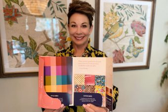 Carol holding the Style Kit - how to use your intuition to improve your style