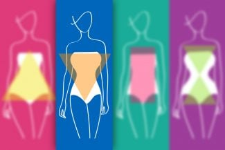 How to dress an inverted triangle shaped body?