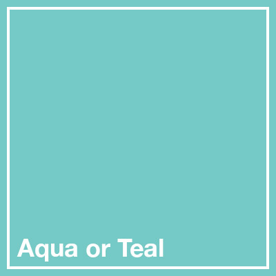 Aqua or Teal square