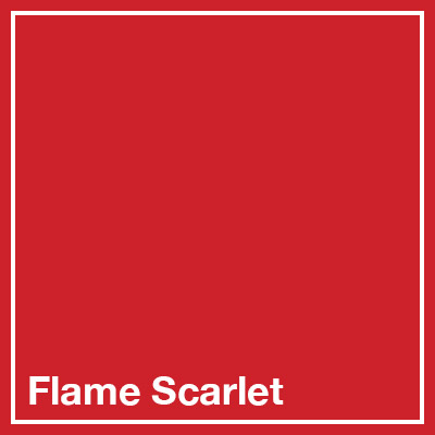 Flame Scarlet square