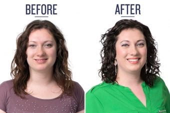 Charity's Before & After