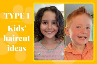 Type 1 Hairstyles for Kids