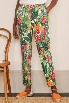 Danby Pull On Pants - Palm Leaf, Paradise Jungle