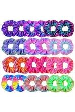 Girls Shiny Metallic Scrunchies