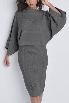 Two-Piece Sweater Dress